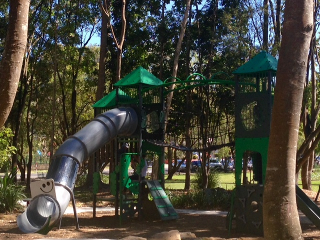 Knox Park Adventure Playground, Murwillumbah, local attraction, imaginative play, skate park and scooter precinct, picnic areas, beautiful award winning playground, Knox Park, car parking, shady play areas, soccer, netball, handball facility, flying fox, play equipment for all aged children, safe play area, leisure activities for families,