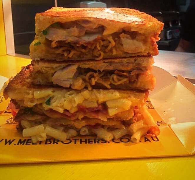 Melt Bros, Melt Brothers Brisbane, Toasted Cheese Sandwiches, best cheese sandwich, where to lunch in Brisbane?,