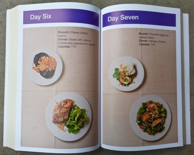 Michael Mosley, fast diet, 8-week blood sugar diet, mediterranean diet, 800 calories, meal plan, recipes, day six, day seven