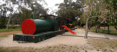 Young train lovers will beg to come to this park