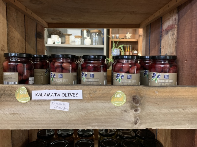 Olive Grove & Shed Café, The Shed Café, Cheevers Family, Rathdowney, Mount Maroon, Mount Ernest, Mount Barney, Jams, chutneys and local products,