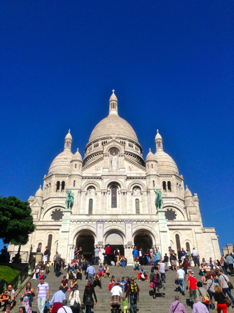 paris,sacre coeur,view,church,religion,tourist,beauty,building