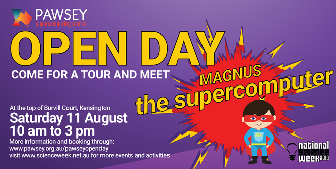 Pawsey Open Day