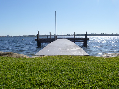Private, Jetty, Swan, River, Mosman, park