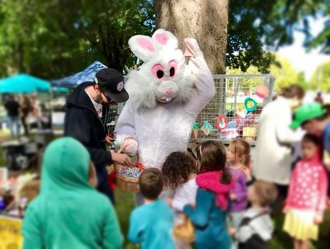 queanebeyan market, 2018, canberra, queanbeyan, easter egg hunts, easter events, kids, families, children, eggs, markets,