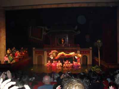 The Hanoi Water Puppet Show