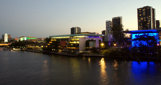 There is plenty of parking under South Bank and the Cultural Precinct