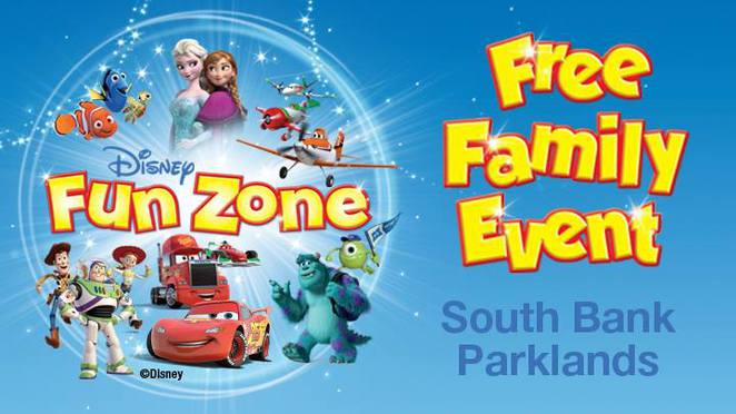 southbank piazza, southbank brisbane, disney characters, disney movies, lightning mcqueen, cars and planes