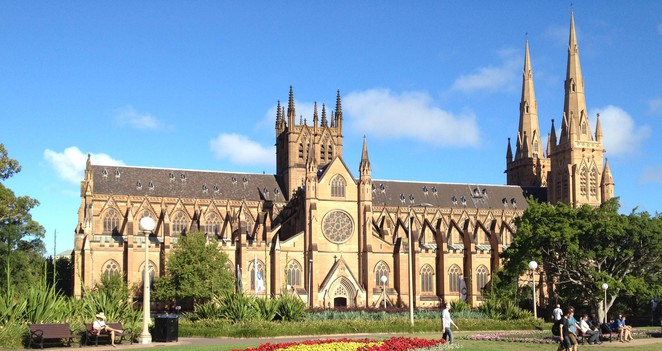 st mary's cathedral sydney, st marys hyde park sydney, what to see in sydney, tourist spots in sydney, places to visit in sydney, must visit sydney, must see in sydney