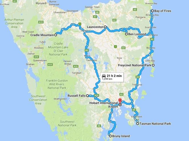 tasmania road trip itinerary hobart freycinet tasman national park ben lomond cradle mountain launceston travel australia photography