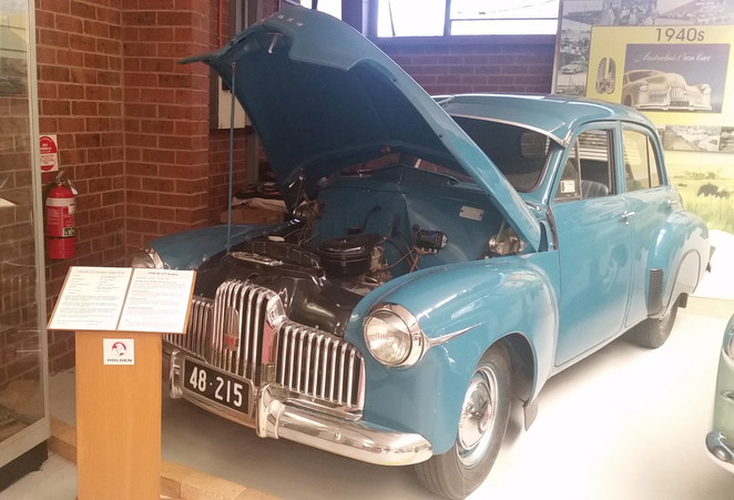 The first Holden-a 1948 Sedan