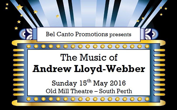The Music of Andrew Lloyd Webber, Bel Canto Promotions, Justin Freind, Kathy Freind