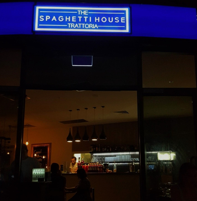 the spaghetti house, pasta, italian, southbank, brisbane, dinner, restaurants
