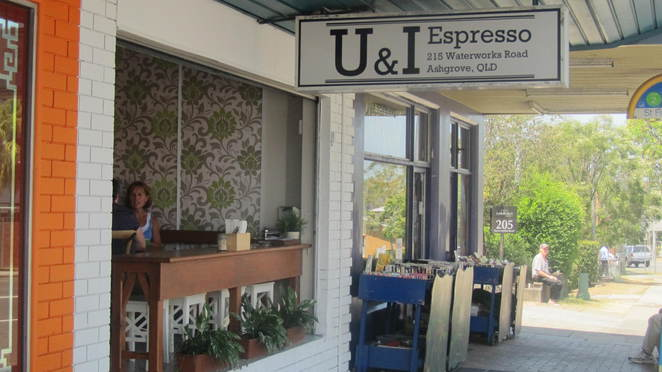 U&I Espresso, Ashgrove, Dramanti, single origin blend, brunch, Billy's Meats, Pandelyssi, artisan roasters, coffee, food, cafe