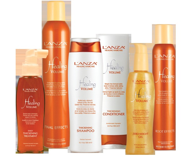 volume, hair, healing, hair care, hair products, lanza, lanza healing hair care australia