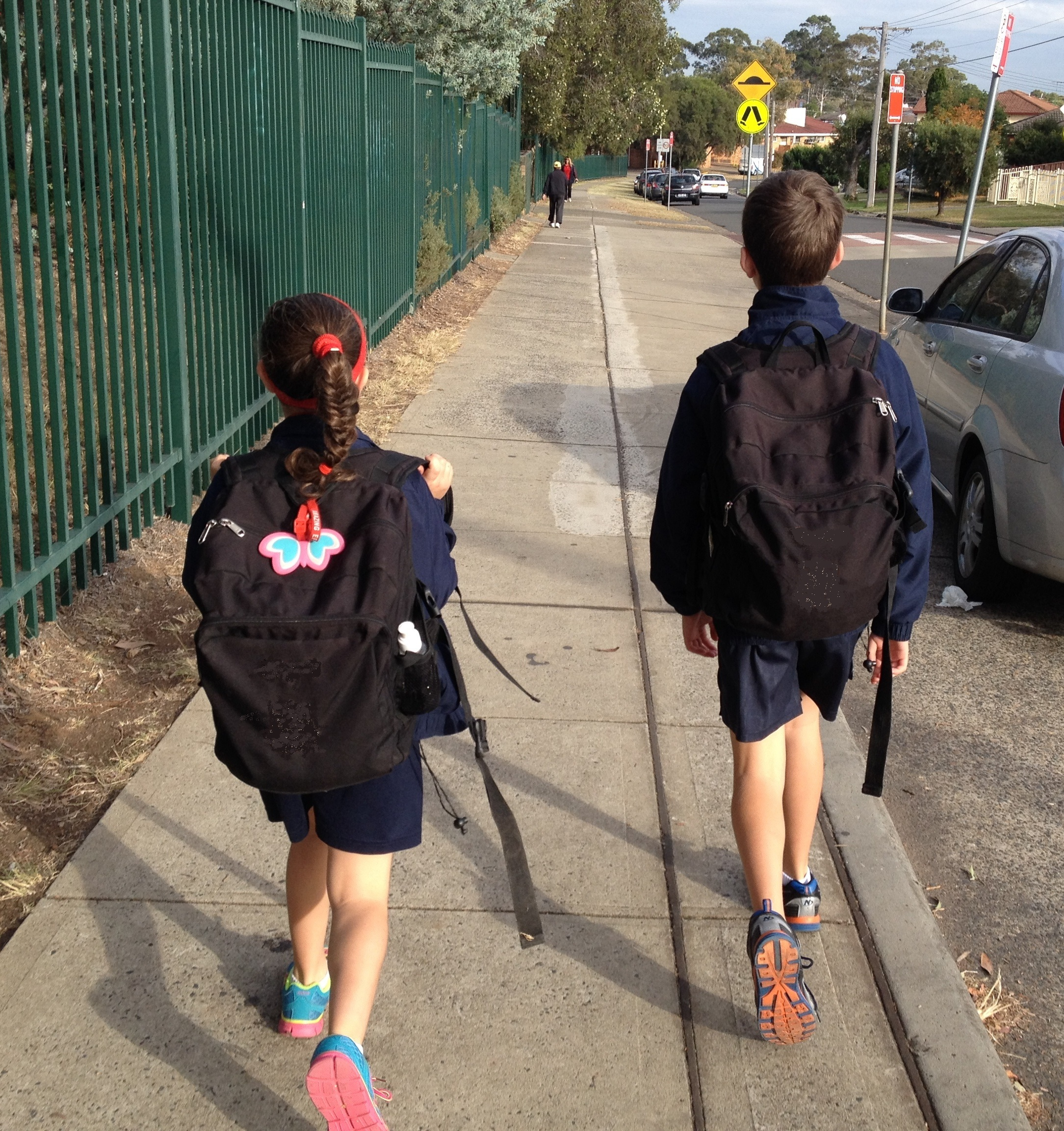 National School Walk Out: National Walk Safely To School Day 2015