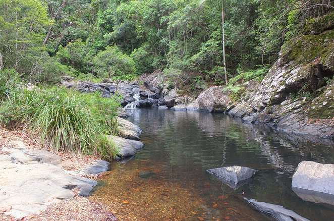 Waterfalls you can swim in, rock pools, picnics, walks, camping, mountain-fresh water, Booloumba Falls, Conondale National Park, Gardener's Falls, Maleny, Kondadilla Falls, Kondadilla National Park