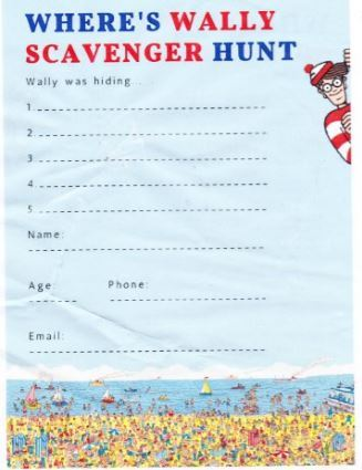 Where's Wally, Where's Wally scavenger hunt, Darwin Libraries, Darwin, 30 years of Where's Wally