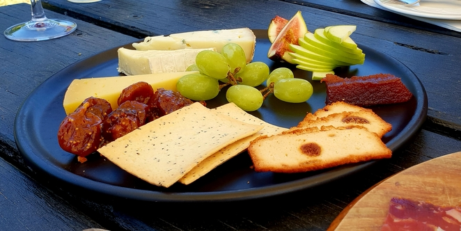 Yarra Valley, Winery, platter, cheese, lunch, wine, food, casual, outdoors