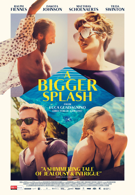 A Bigger Splash, A Bigger Splash movie, A Bigger Splash film review, A Bigger Splash review, movie reviews, film reviews, new releases, cinema, Italian films