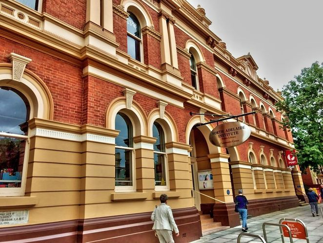 Adelaide City Libraries, January, libraries , Adelaide, free, free event, bookings essential, city library, heritage listed, north adelaide library