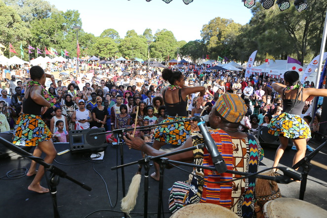 African culture Lidcombe festival African music and dance
