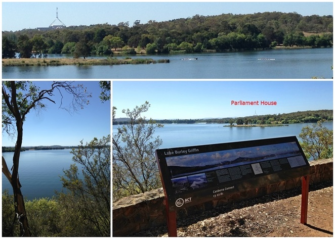 black mountain peninsula lookout, canberra, families, parks, reserves, western loop, lake burley griffin, playground, BBQ areas, picnic spots,