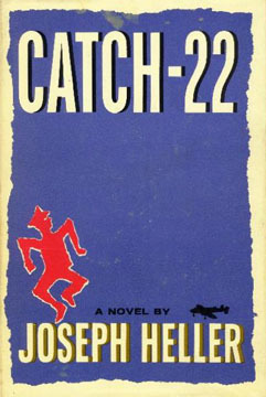 book, cover, catch-22
