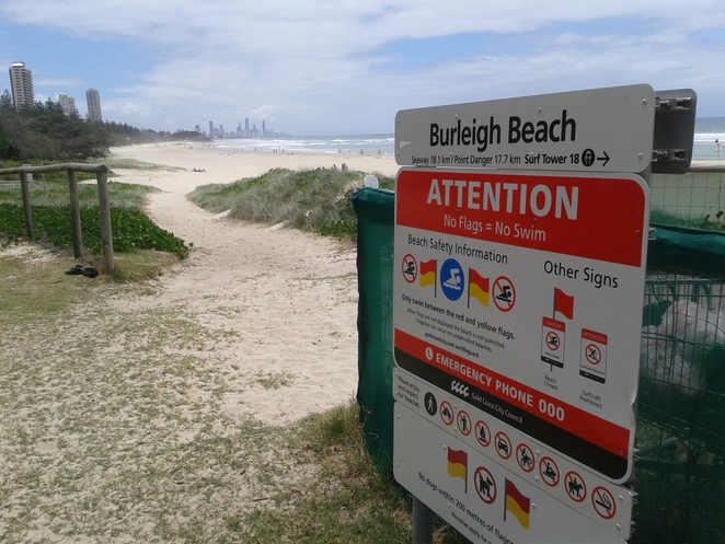 Burleigh to Surfers view