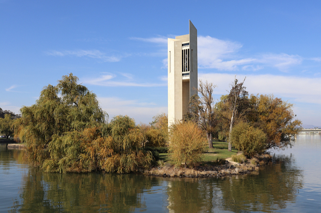 Carillon, Canberra, cruise, sightseeing, tour, lake burley griffin