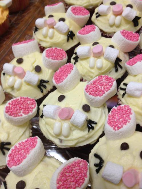 carrot cupcakes, rabbits, bunny, rspca, charity