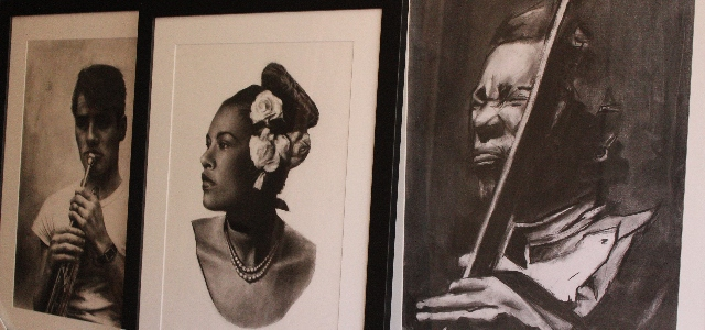 charcoal art workshop for budding artist with espeth mckellar