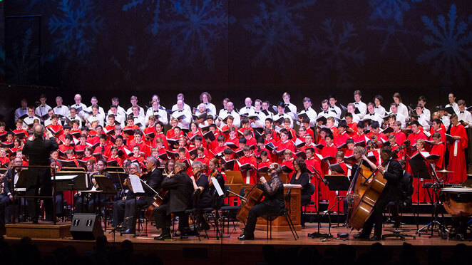 choirs chistmas Christmas with National Boys Choir music singing classical