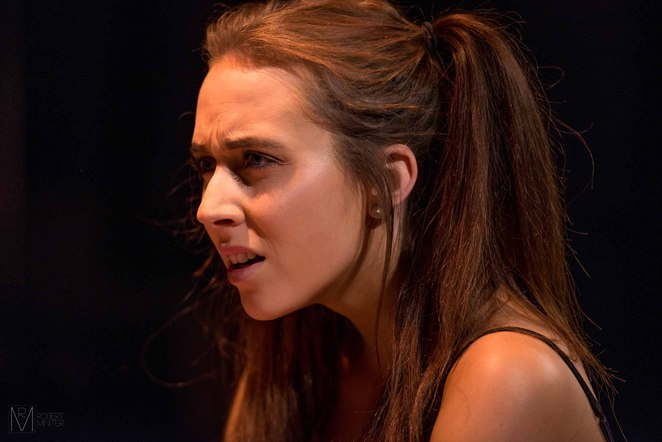 Claire Johnston performs as Emma Post in Bitch