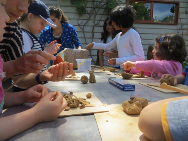 clay, workshop, kids duldig, craft, art, school holidays