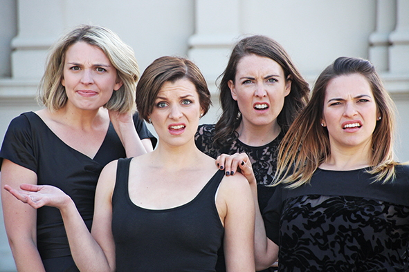 Desperate and Dateless, Ginger & Tonic, Fringe World, Perth 2016, a capella,