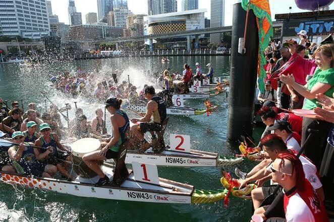 dragon boat races sydney