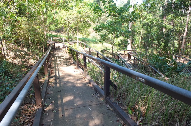 Easy Walks, Sunshine Coast, Ben Bennett Bushland Park, Buderim Forest Waterfall Walk, Buderim Palmwoods Heritage Tramway Walk, Coastal Track Noosa National Park, Sunshine Beach, Kathleen McArthur Conservation Park, Currimundi Lake, Eric Joseph Foote War Memorial Sanctuary, Gary Evans Walkway, Nambour, Mary Cairncross Scenic Reserve, Maleny, Mt Tibrogargan Circuit, Glasshouse Mountains, Narrows and Baroon Lookouts, Kondadilla National Park, Point Cartwright Walk and Lighthouse, Tunnel Track, Dularcha National Park, Landsborough, Wompoo Circuit, Mapleton Falls National Park