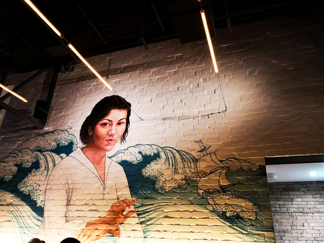 Emily Taylor Fremantle, wall mural