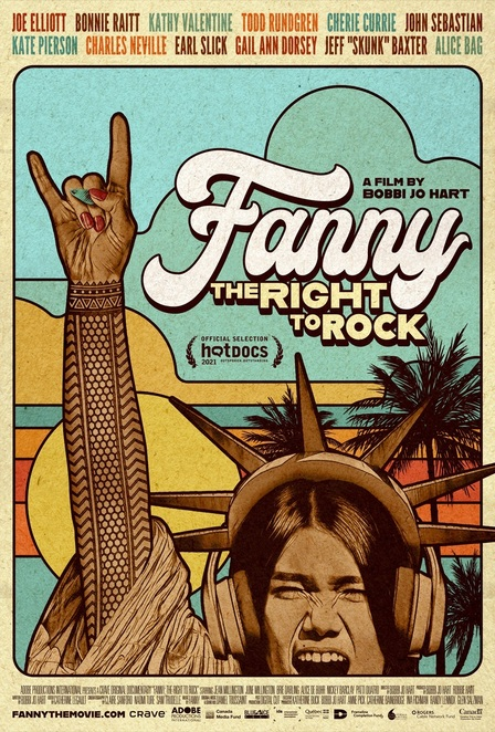fanny, band, music, rock, documentary, poster