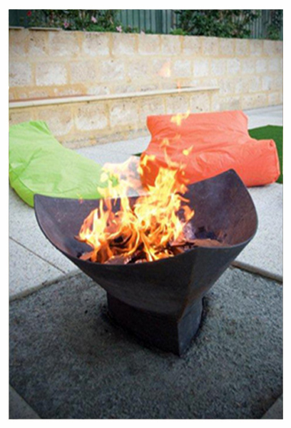 Fire pit, custom, Perth, gift, tavoli, winter