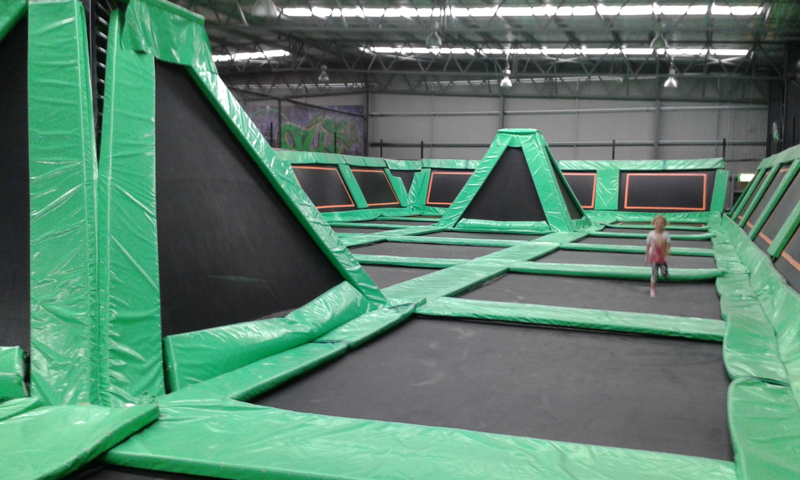 Flip Out Indoor Trampoline Arena Hume Canberra