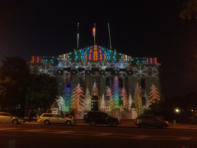 Geelong Town Hall, Christmas 2015