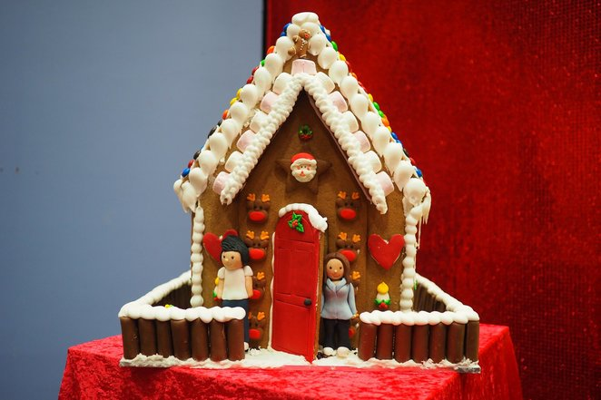 Gingerbread Village by Epicure, Riverside gallery, Federation Square, Royal Children's Hospital Foundation
