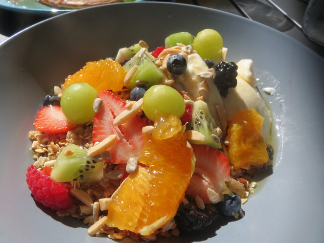 Granola Yoghurt Fruit Bowl @ The Chef's Daughter