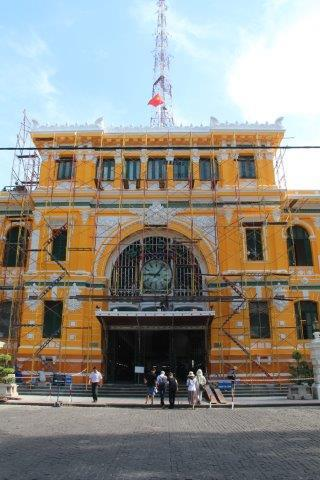 Ho Chi Minh City, Central Post Office