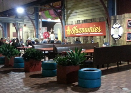 Kazoomies, Fremantle, E-Shed, dinner, tapas