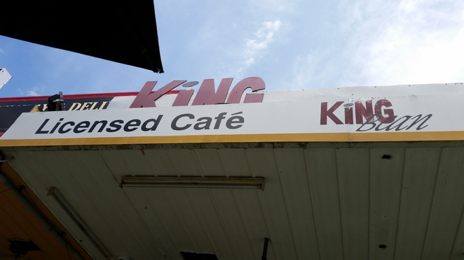 King Bean Cafe has great local Cottle Coffee