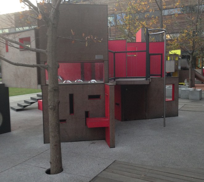 Library at the Dock Playground