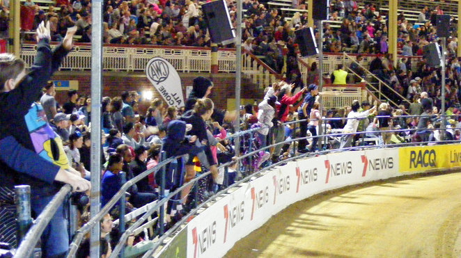 The main arena can fill up quickly with crowds eager for the entertainment